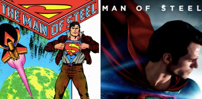 'Man of Steel' in 1986...and in 2013.