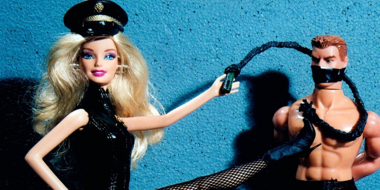dominatrix barbie and ken