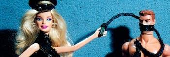 dominatrix barbie and ken