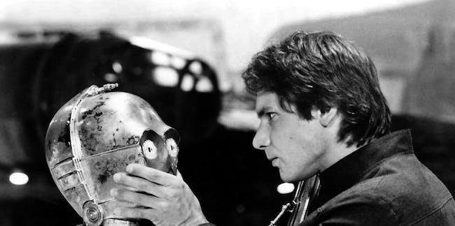 Han Solo shuts up C-3PO in 'The Empire Strikes Back'