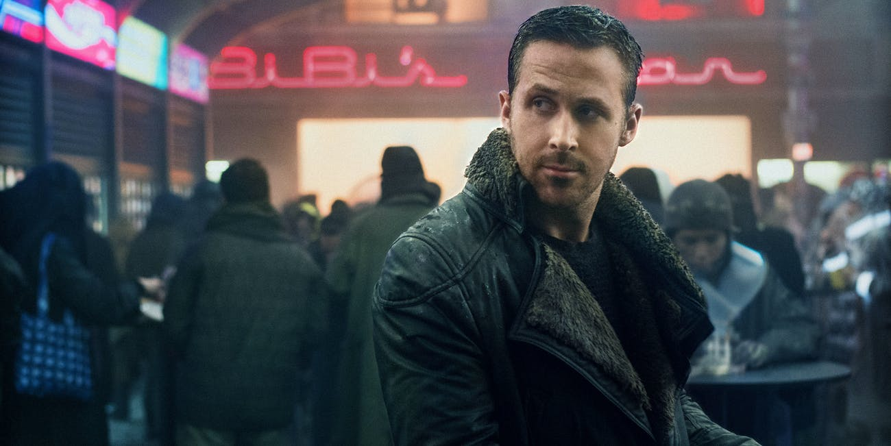 Ryan Gosling as Agent K in 'Blade Runner 2049'.