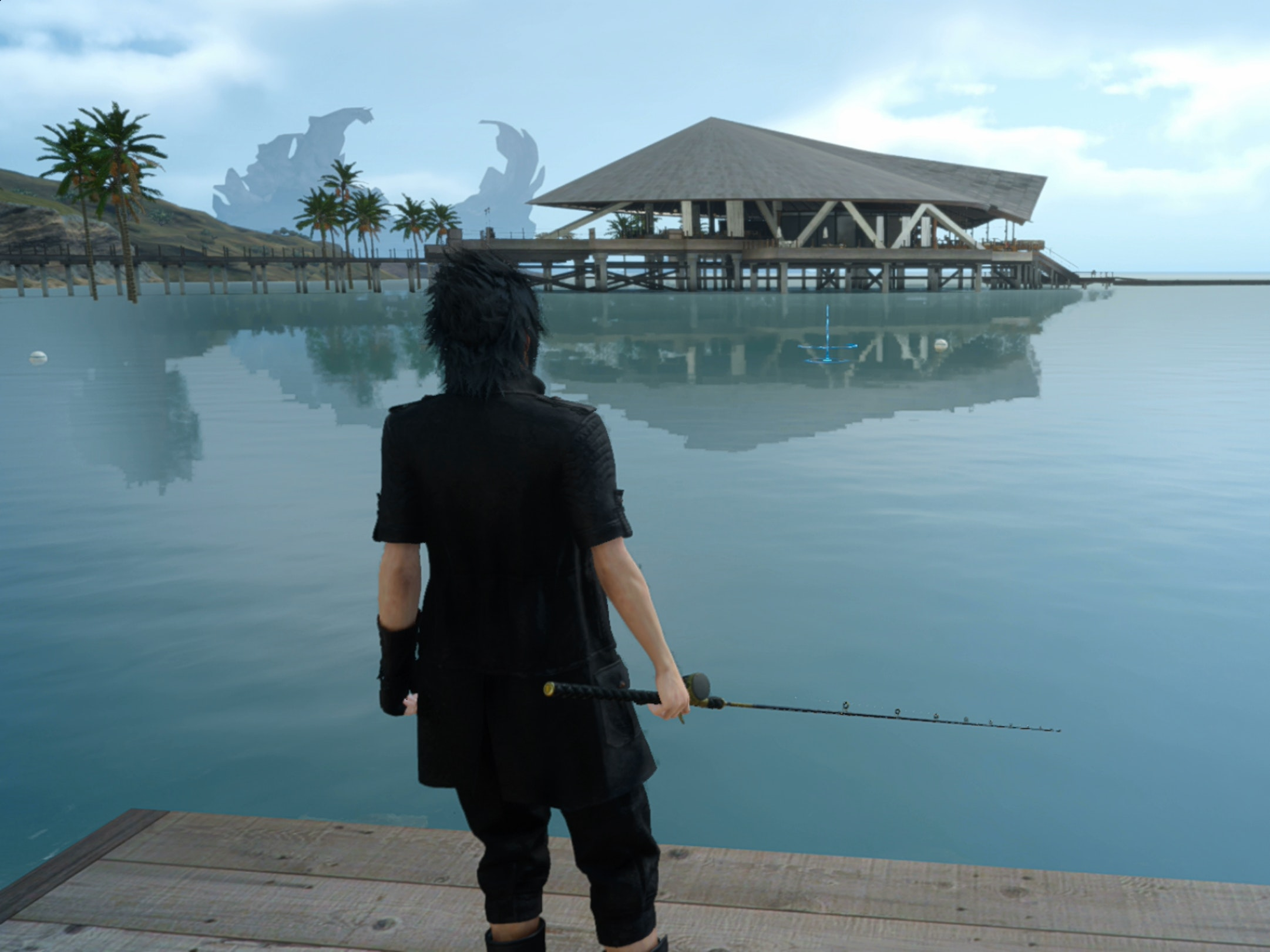 Fishing in final fantasy xv is secretly great inverse for Final fantasy 15 fishing