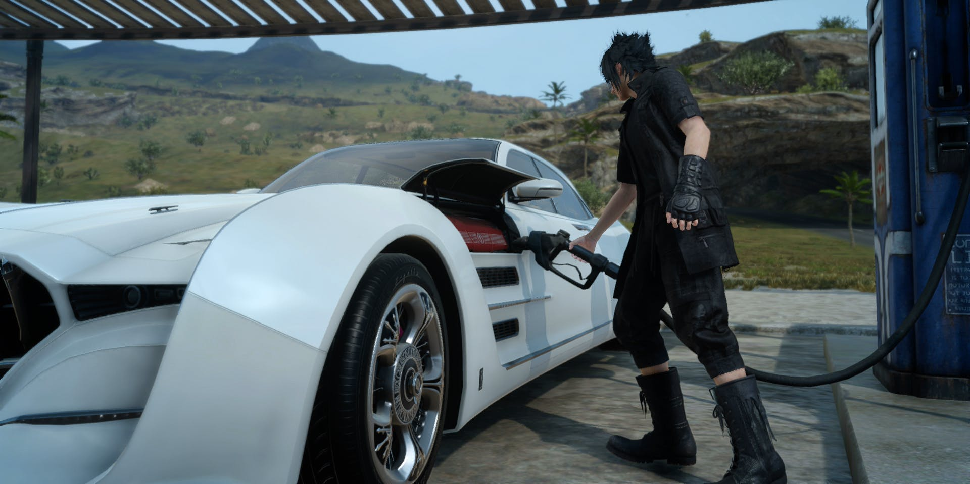 Final Fantasy XV patch update could introduce god mode