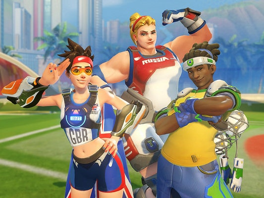 'Overwatch' Celebrates Rio Olympics With New Map and Loot