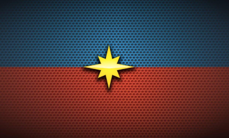 The Captain Marvel logo