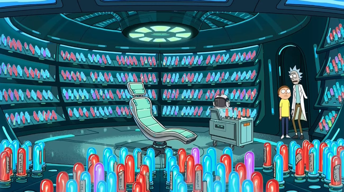 Morty's mind has been blown — a lot.
