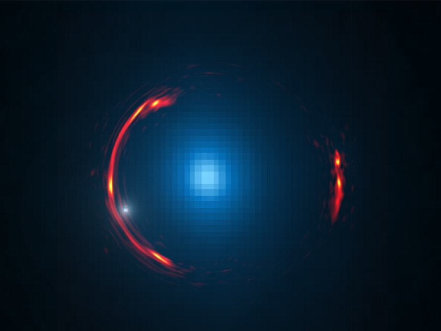 Astronomers Find a Dwarf Dark Galaxy Hiding in Space