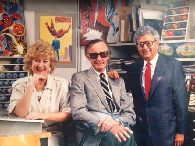 Margaret Loesch Stan Lee Marvel