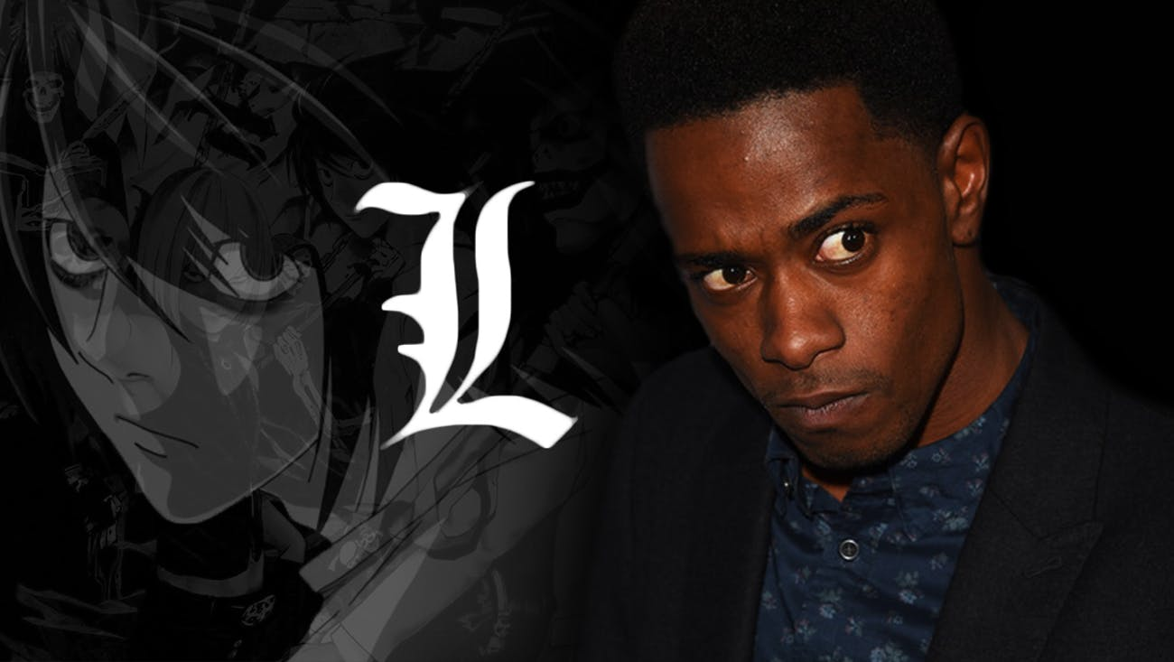 Keith Stanfield as L in Netflix's 'Death Note'