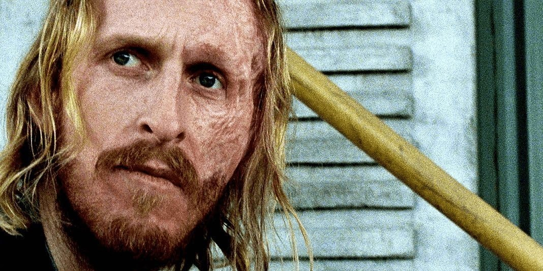 The Walking Dead's version of two face looks tired.