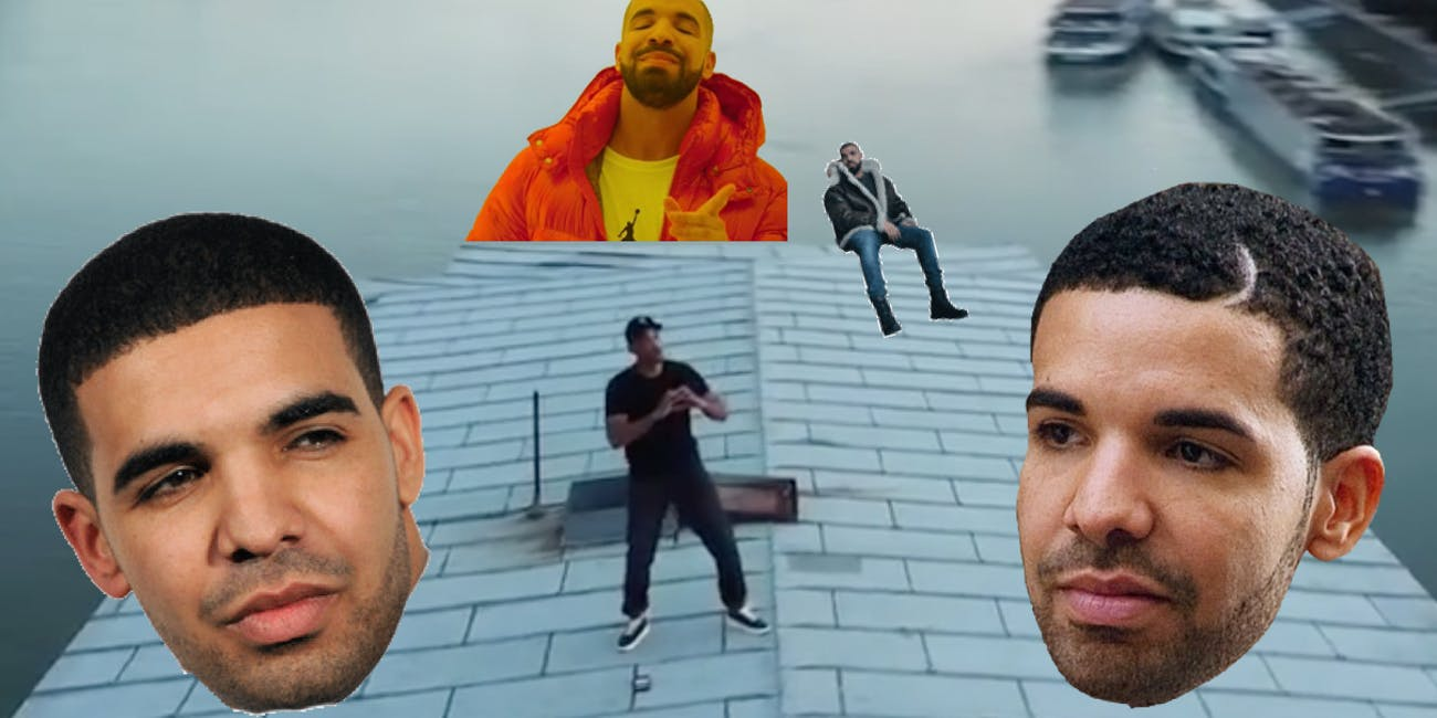 Drake In My Feelings Meme Shiggy Dance Challenge