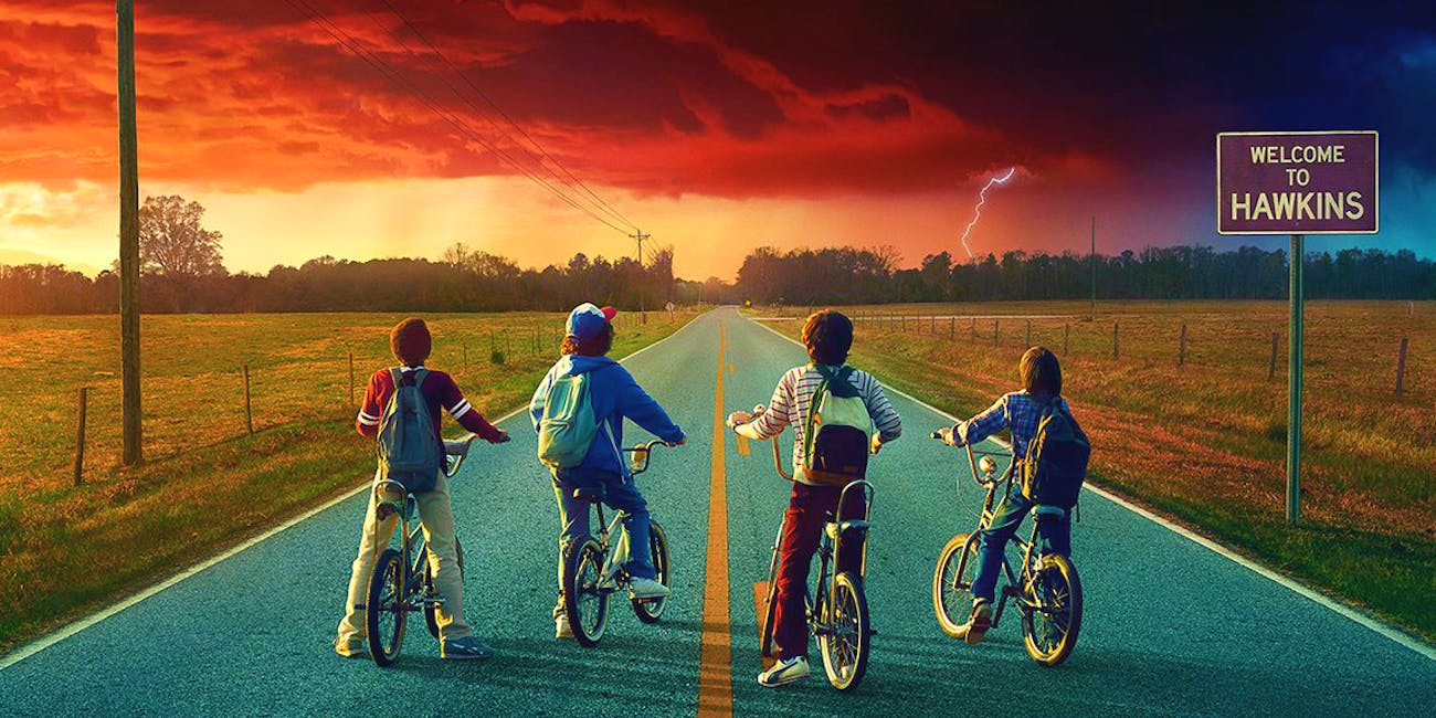 Dustin, Mike, Lucas, and Will -- 'Stranger Things': Season 2.