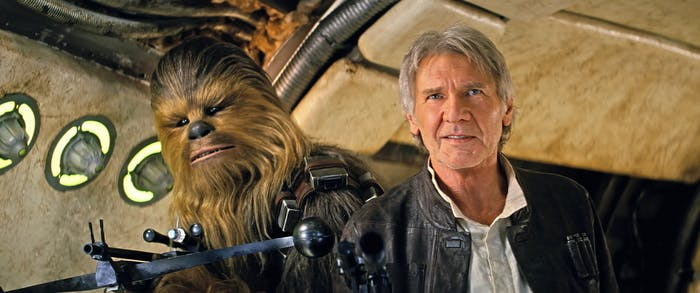When Chewie and Han retake the 'Millennium Falcon,' they want answers.