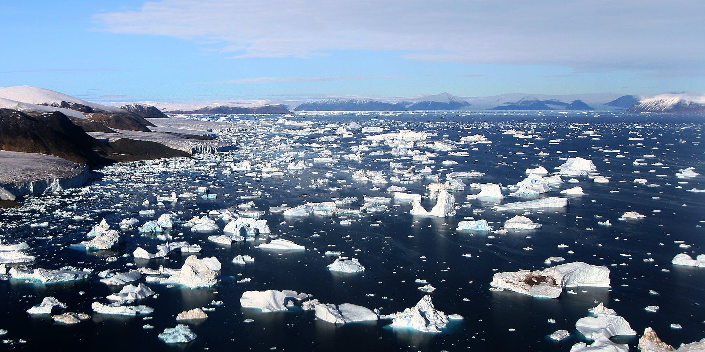 CLimate change ice melt