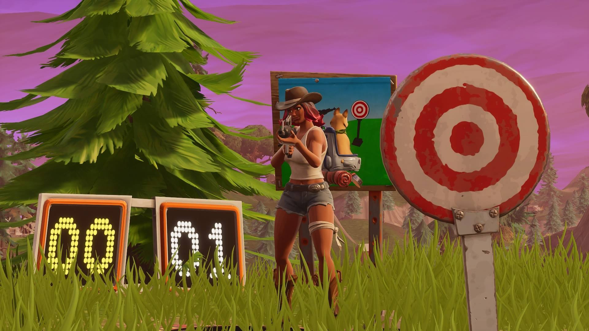 fortnite shooting gallery locations where to find them on the map inverse - all shooting galleries fortnite season 7