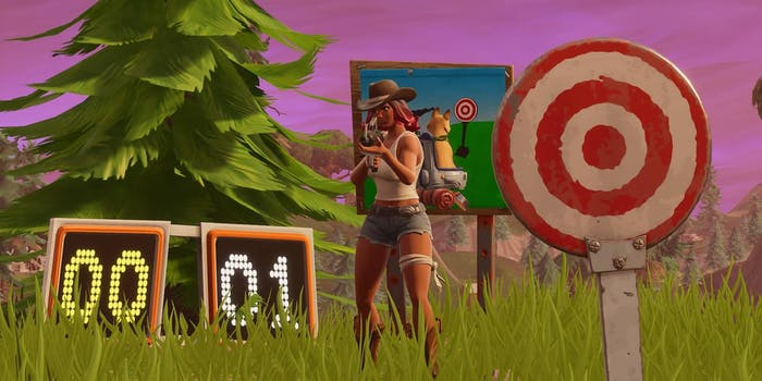 'Fortnite' Shooting Galleries Challenge
