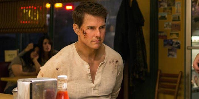 Tom Cruise as Jack Reacher in the sequel, 'Jack Reacher: Never Go Back'