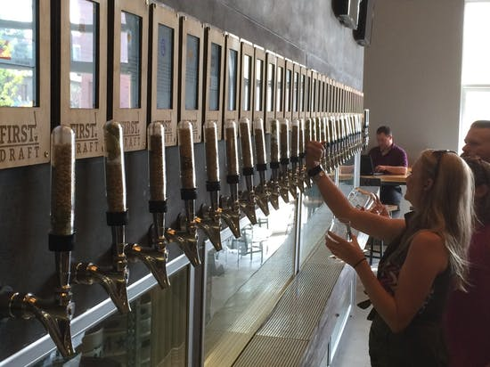 Denver's First Draft, the Bar of the Future, Lets You Pour Your Own Beer