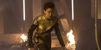 Sonequa Martin-Green in 'Star Trek: Discovery'