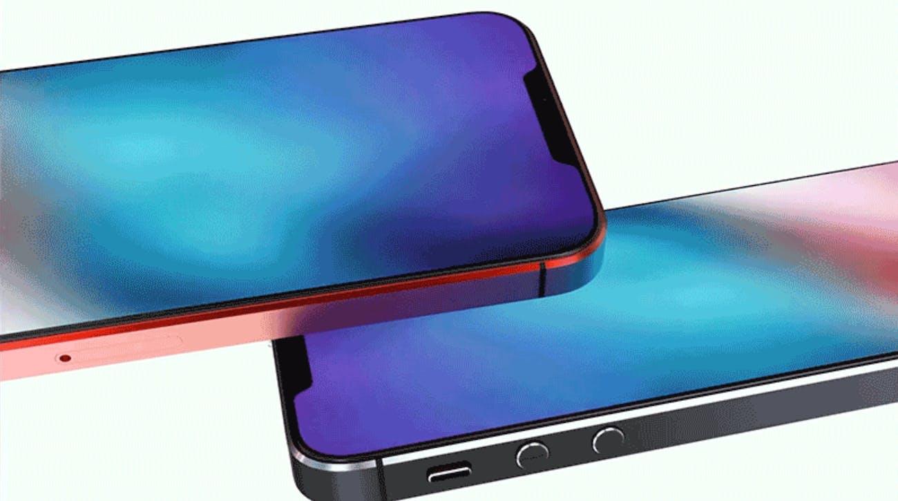 iPhone SE 2 concept sketch.