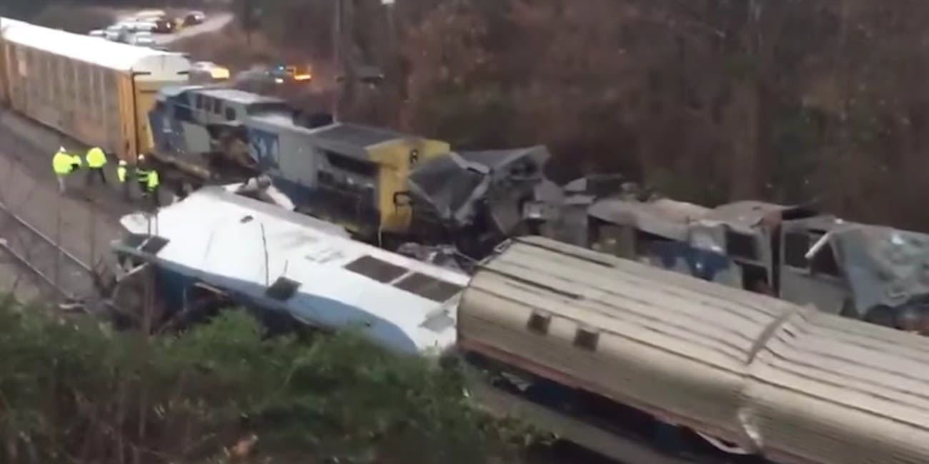Amtrak crash south carolina