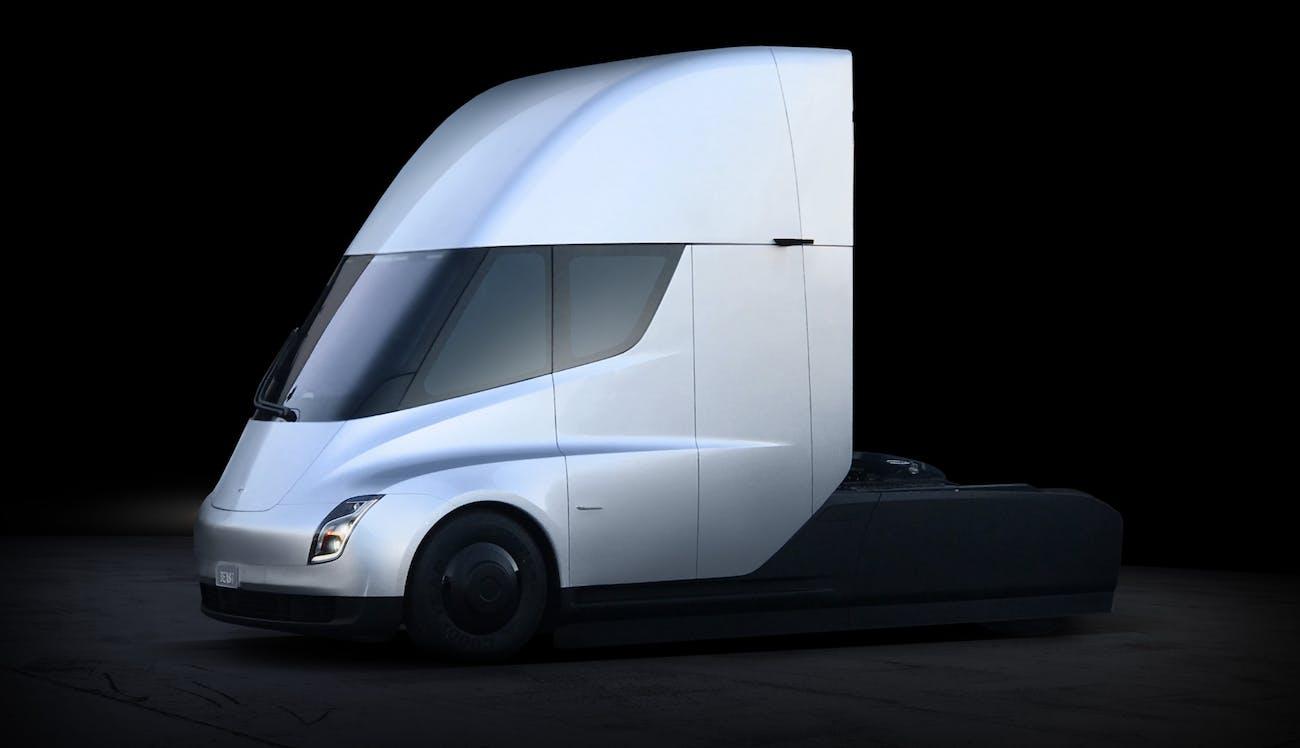 The Tesla Semi.