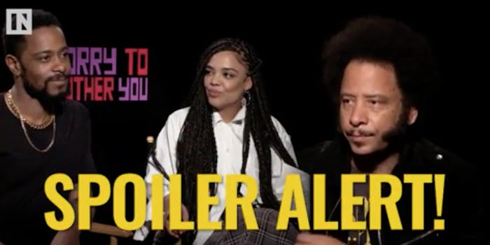 sorry to bother you spoilers ending