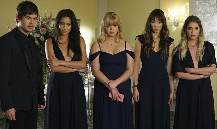 The cast of 'Pretty Little Liars'.