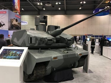 The Highlight of this Year's AUSA Global Conference Is the Robo Tank