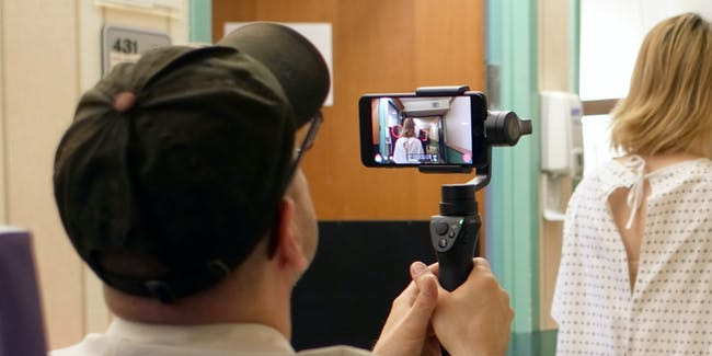 Steven Soderbergh uses an iPhone 7s to shoot 'Unsane'.