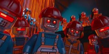 lego movie robots