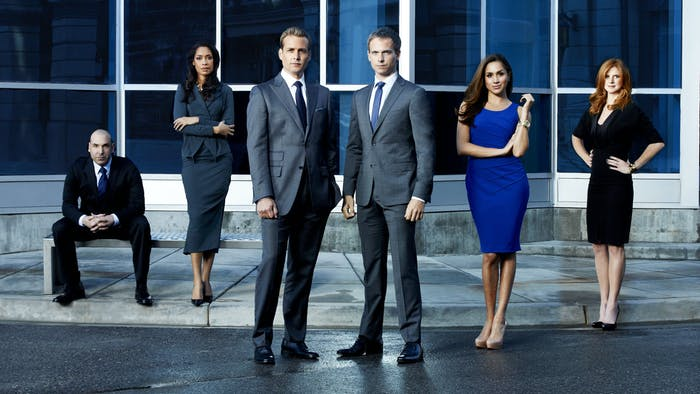 The cast of 'Suits'.