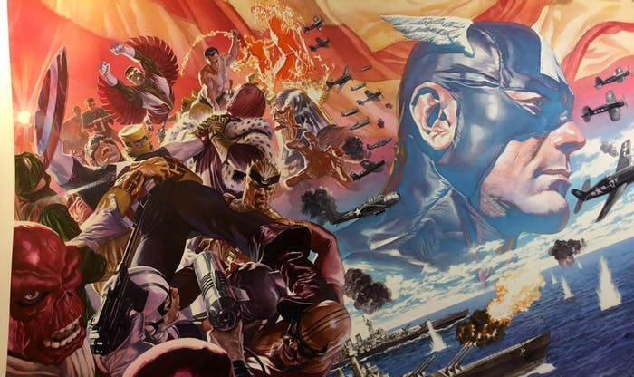 Alex Ross Marvel Captain America