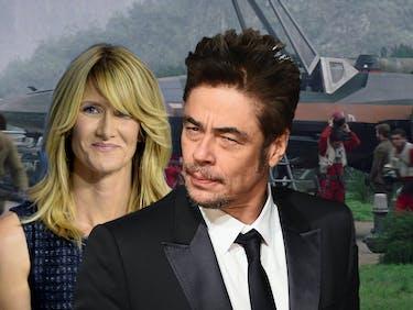 First Look at Laura Dern and Benicio Del Toro in 'The Last Jedi'