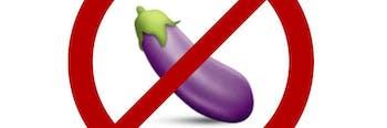 eggplant emoji penis masturbate masturbation genitals