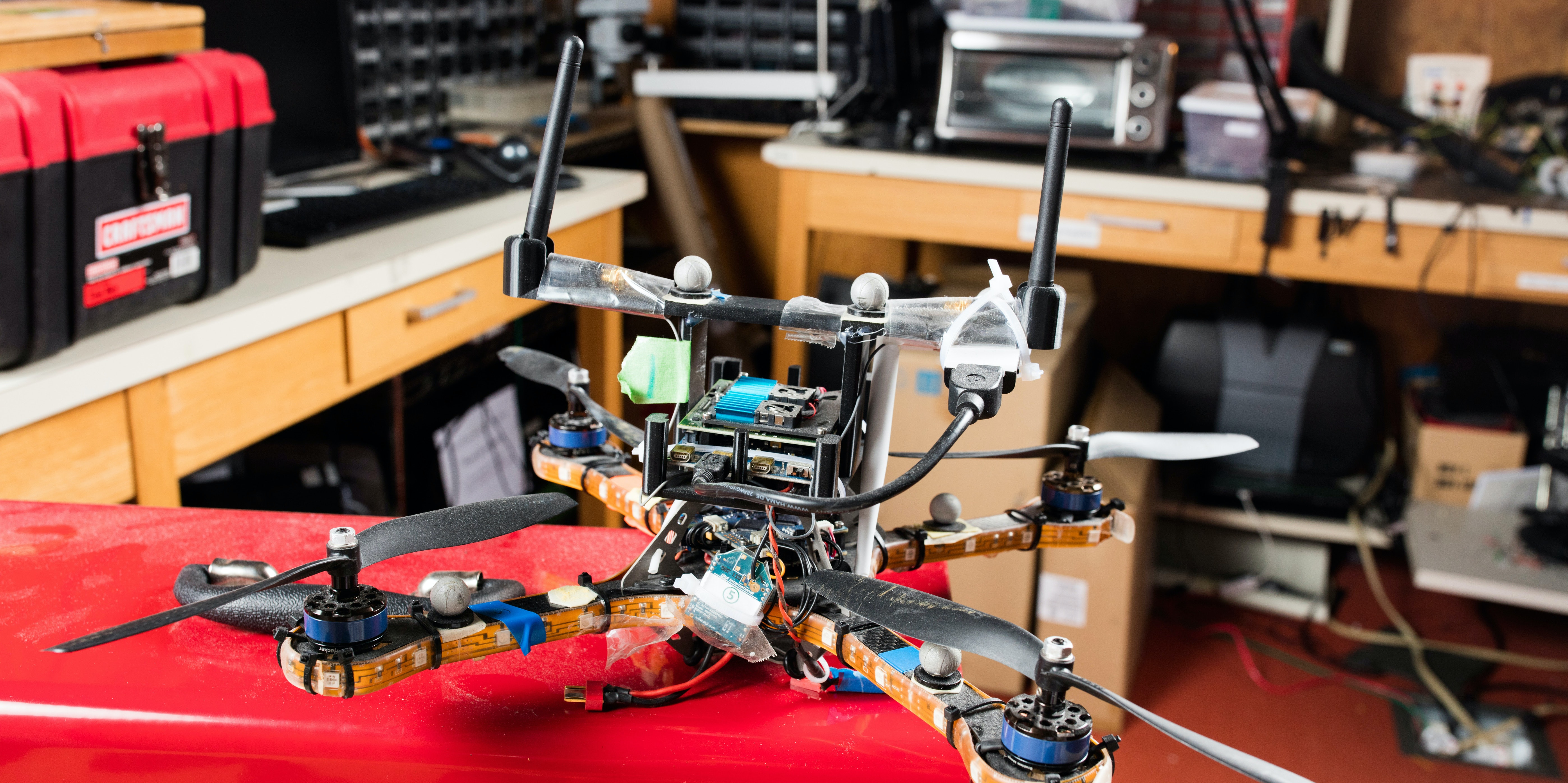 This MIT research drone has a new anti-spoofing algorithm to protect it.