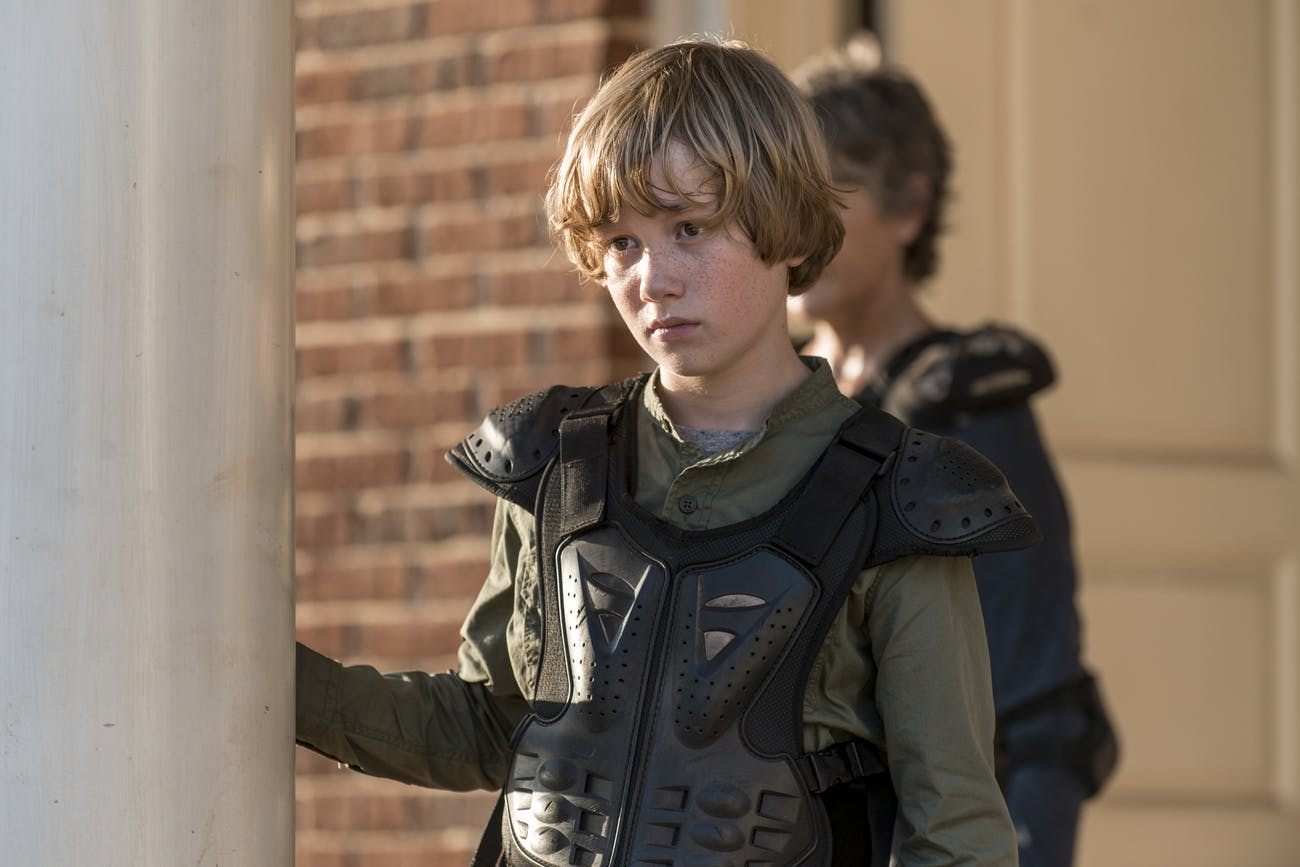 Henry might get a larger role moving forward on 'The Walking Dead'.