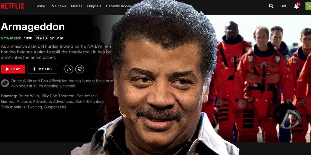Neil deGrasse Tyson gets owned by netflix