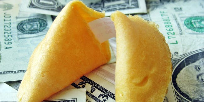 Fortune Cookie and Money