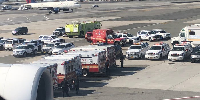 ambulances JFK airpor