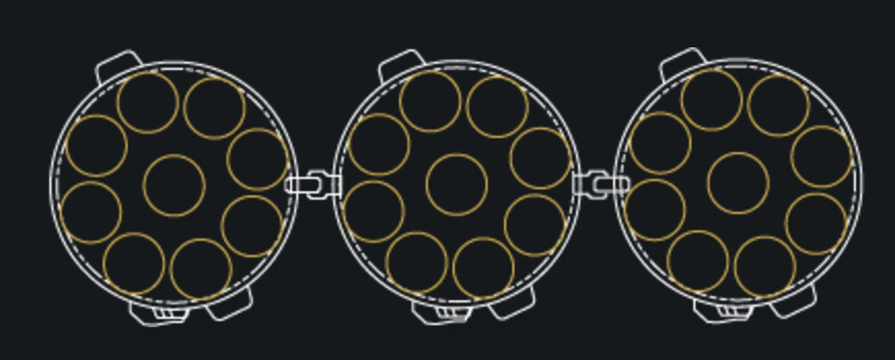 Falcon Heavy engine diagram