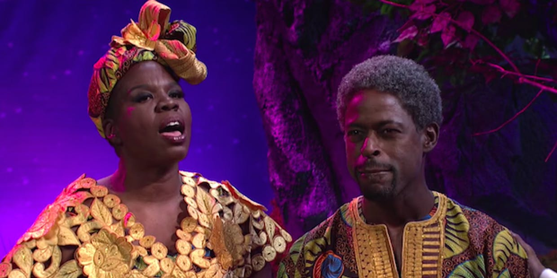 Sterling K. Brown brings Wakanda to SNL