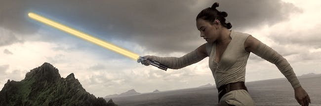 Maybe Rey should get her own lightsaber?
