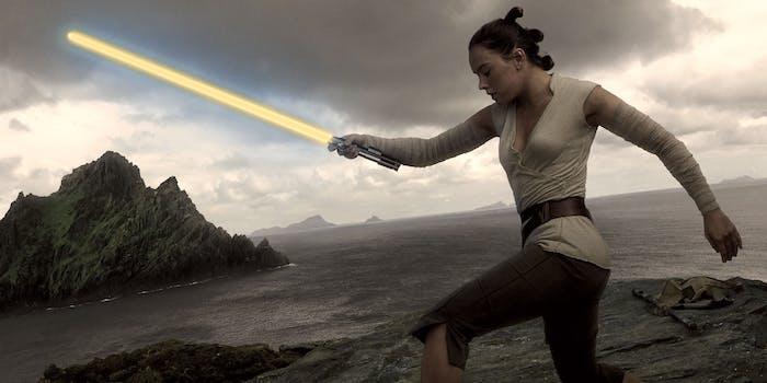 Maybe Rey should get her own lightsaber?