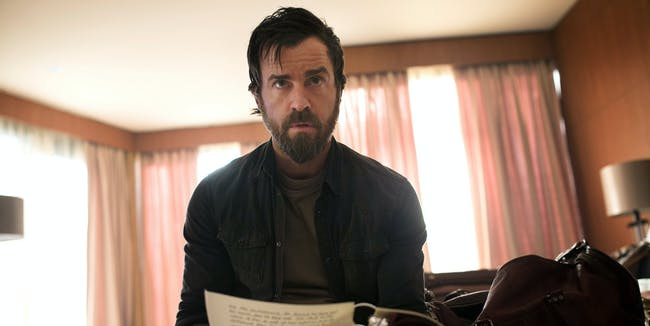Justin Theroux shares scenes from the end of 'The Leftovers'