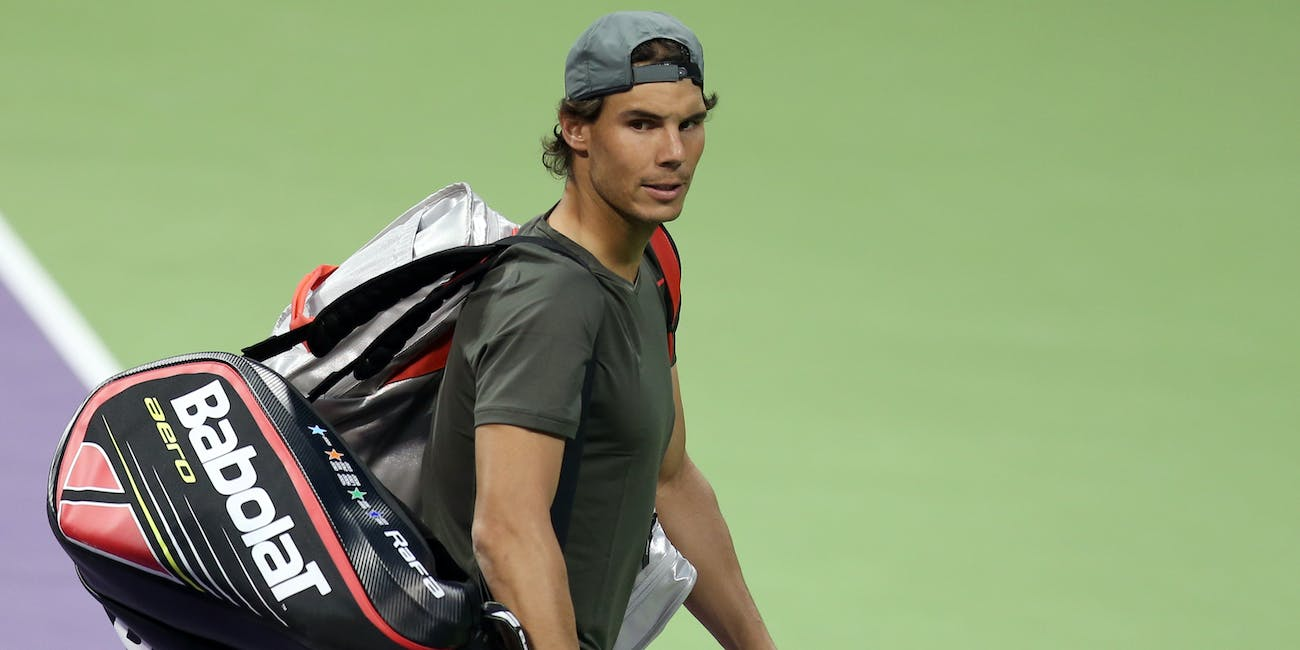 Rafael Nadal hip injury australian open