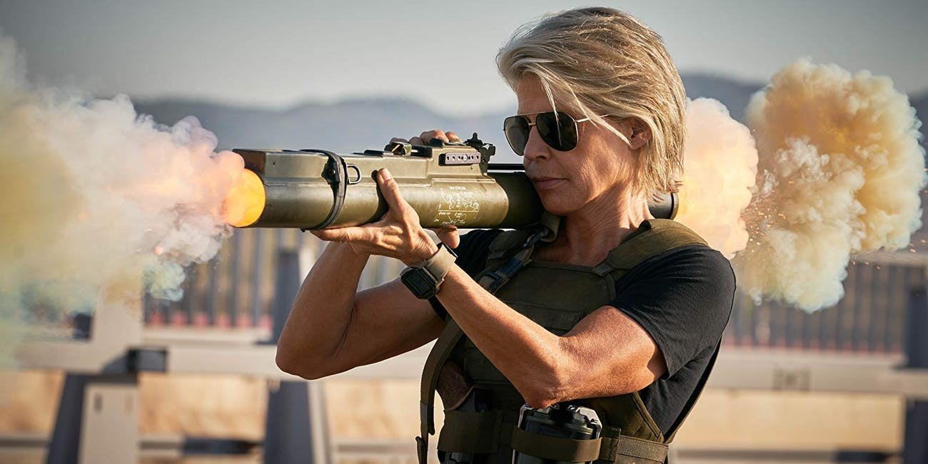 Linda Hamilton in 'Terminator: Dark Fate'