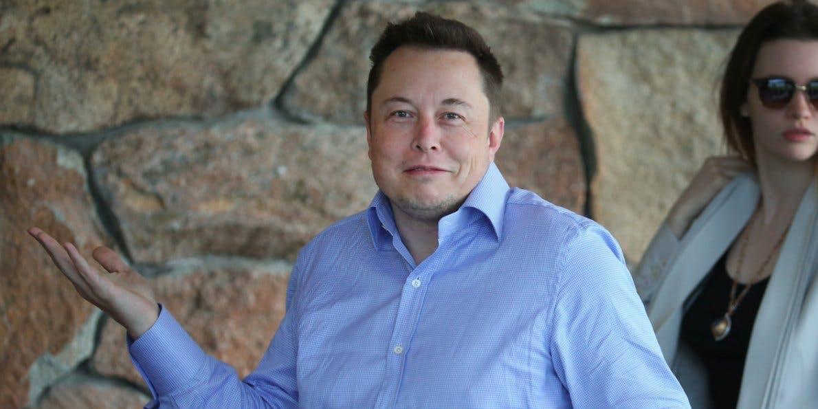 Elon Musk confused