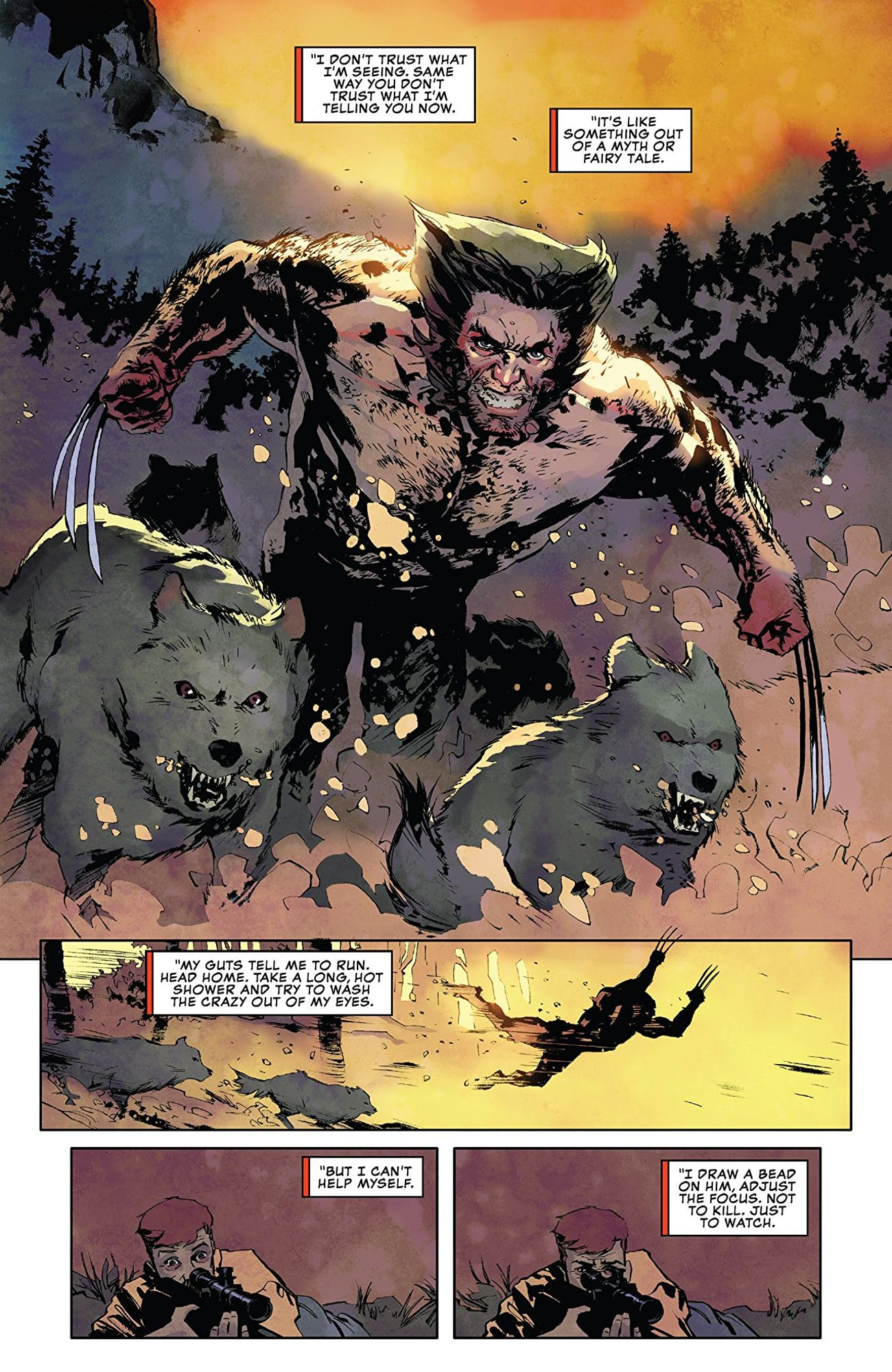 Marvel 'Wolverine' Podcast: Recording 'Lost Trail' Was Like