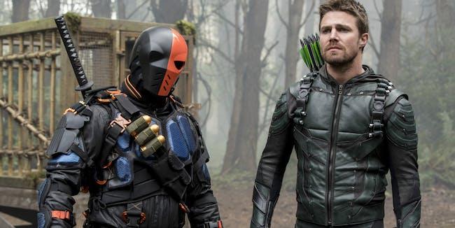 Arrow Season 6 Premiere Deathstroke